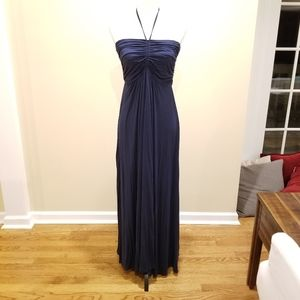 Navy Maxi dress in small by Venus